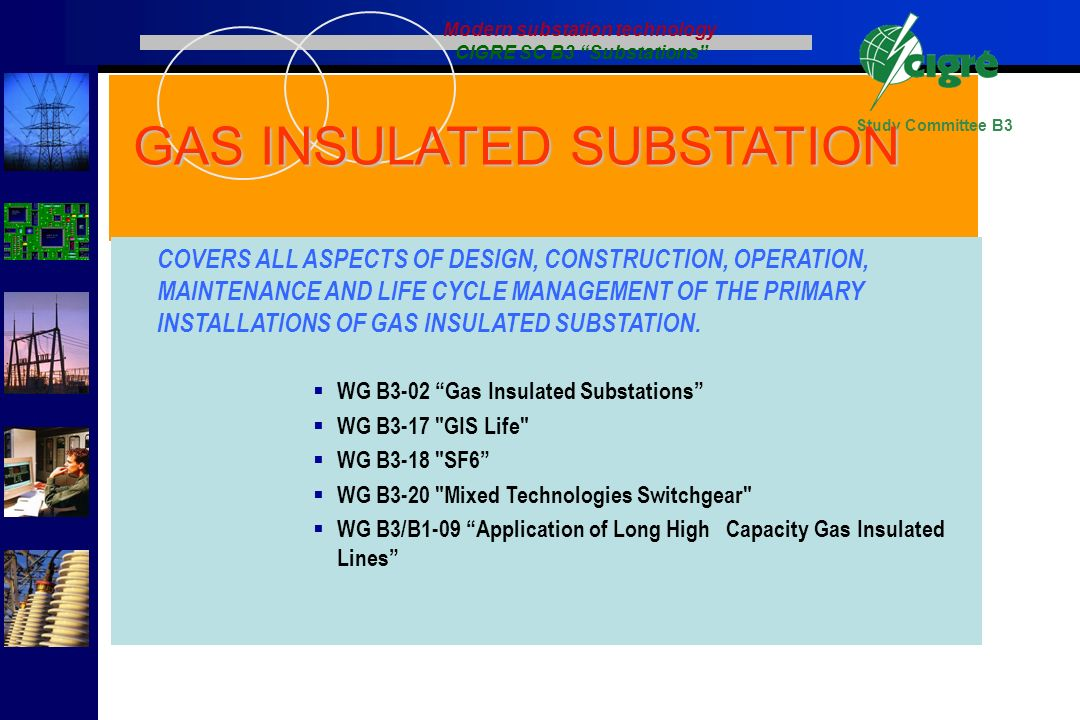 """CIGRE Study Committee B3 """"Substations"""" - ppt download"""