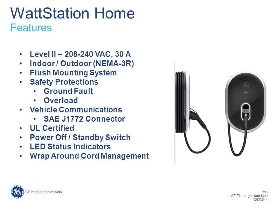 WattStation Home Features