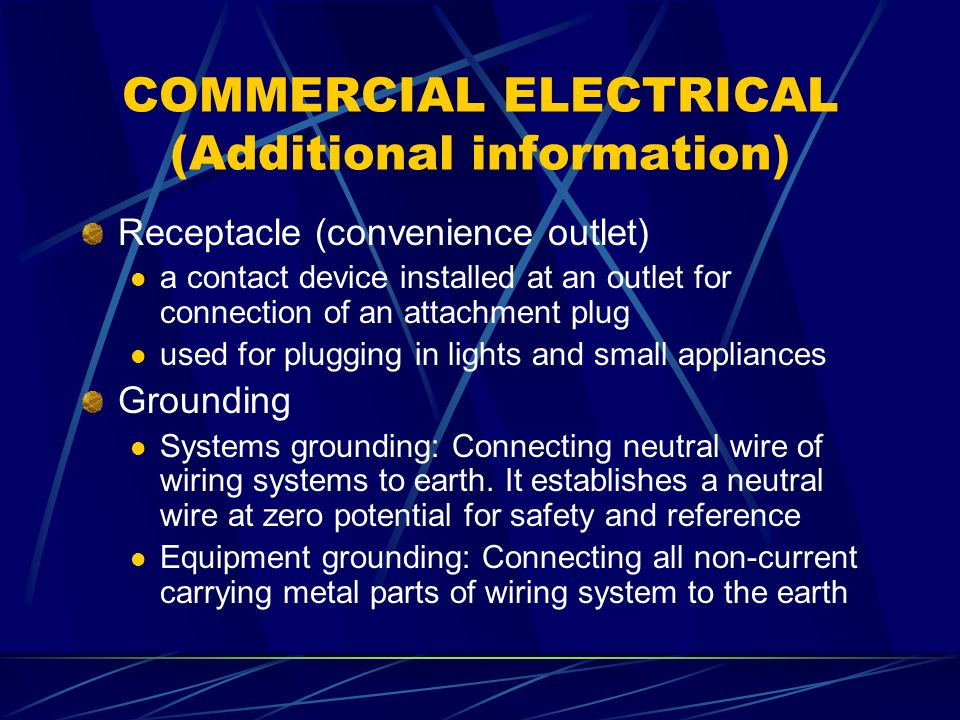 Swell Commercial Wiring Systems Wiring Diagram Wiring 101 Archstreekradiomeanderfmnl