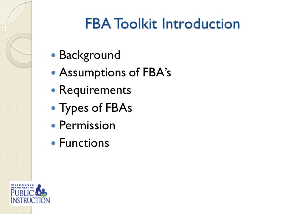 fba toolkit contact