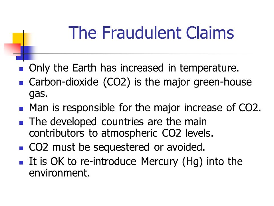 The Fraudulent Claims Only the Earth has increased in temperature.
