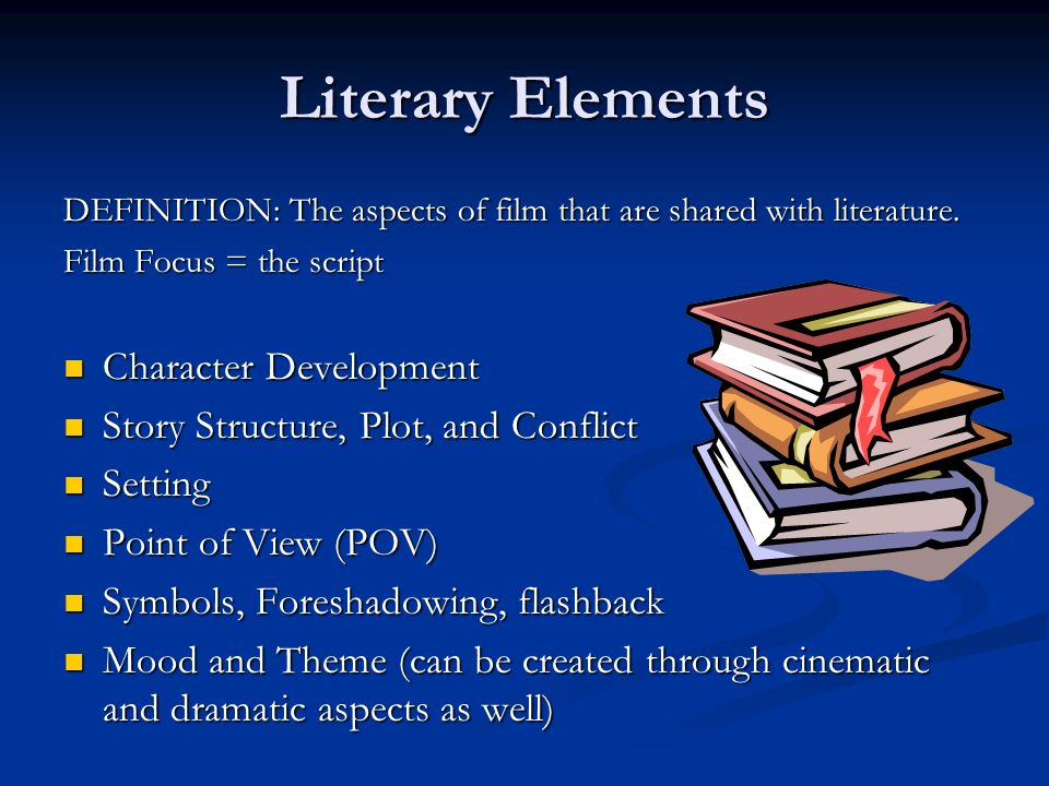3 Aspects Of Film Literary Elements Dramatic Elements Ppt Video