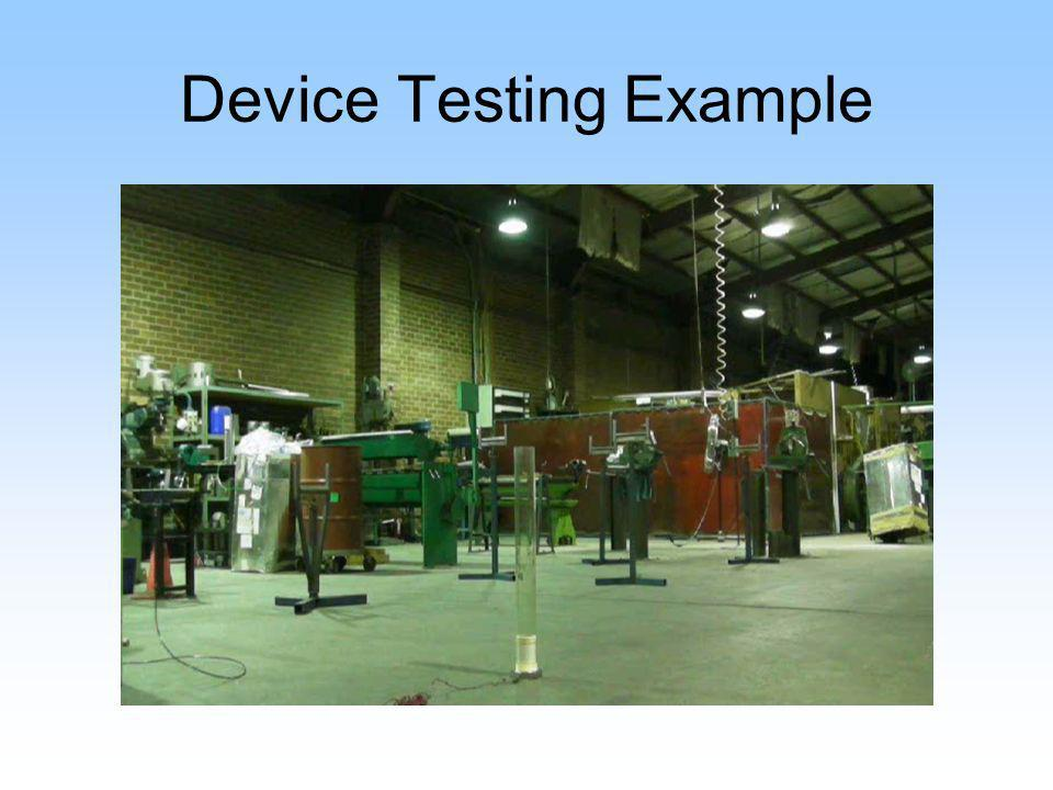 Device Testing Example