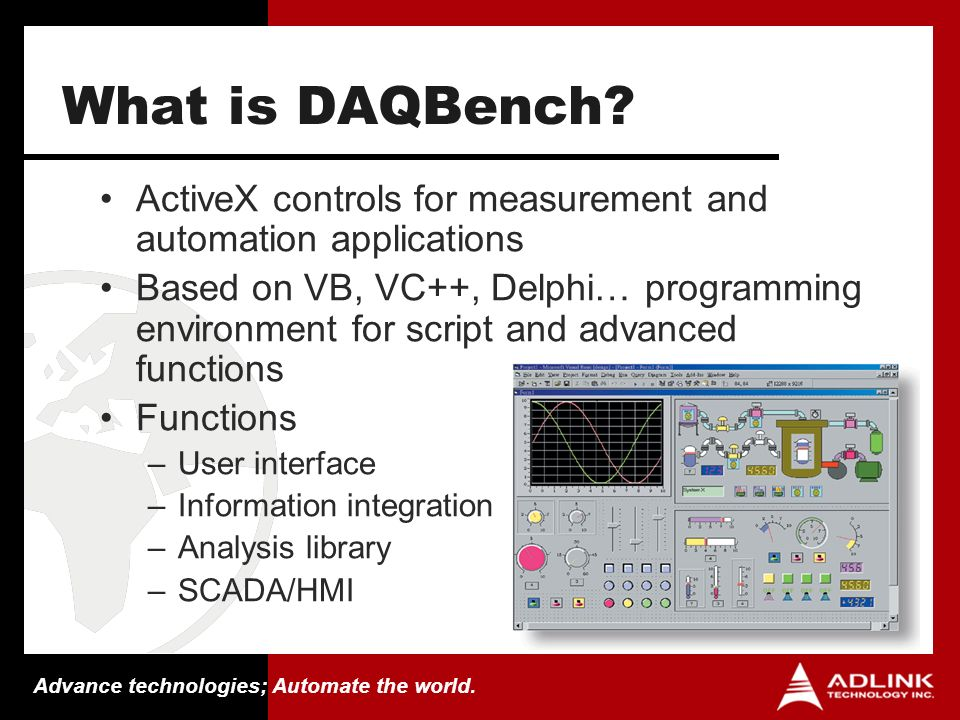 The Open Software Solution for Measurement & Automation - ppt download