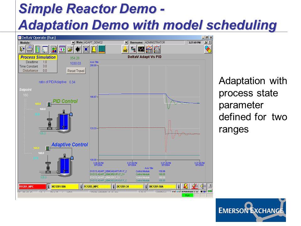 Utilizing DeltaV Adaptive Control - ppt video online download