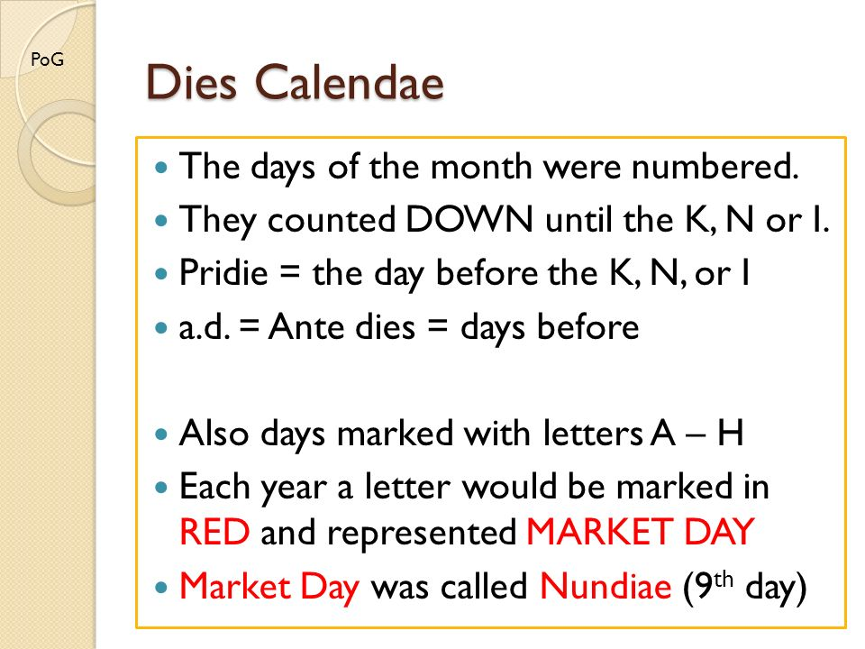 the roman calendar yes it s complicated ppt download