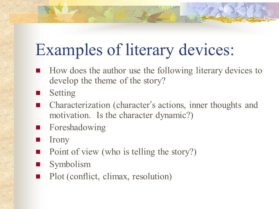 Short Story Literary Analysis Ppt Video Online Download