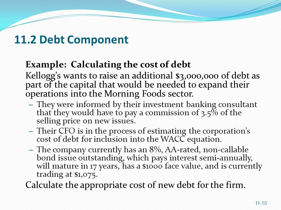 marriott how did you measure the cost of debt for each division 1how much do you know about what you actually do in restructuring the debtor advisor, for example, might have to work with creditors during a forbearance period and then work with lawyers to determine collateral recoveries for each tranche of debt.