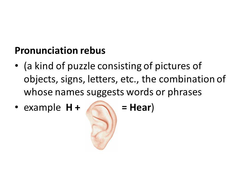 Babys name elements baby book ppt download pronunciation rebus urtaz Images