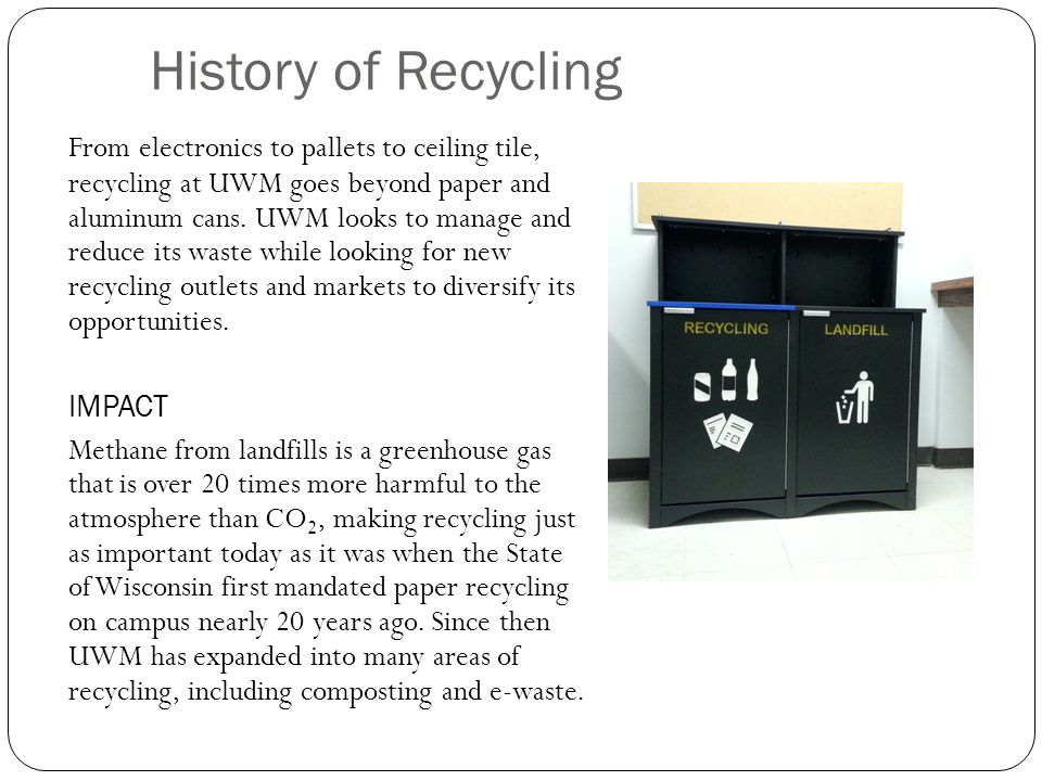 Course 2 Recycling Waste Ppt Video Online Download