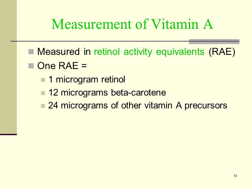 Chapter 6 Vitamins