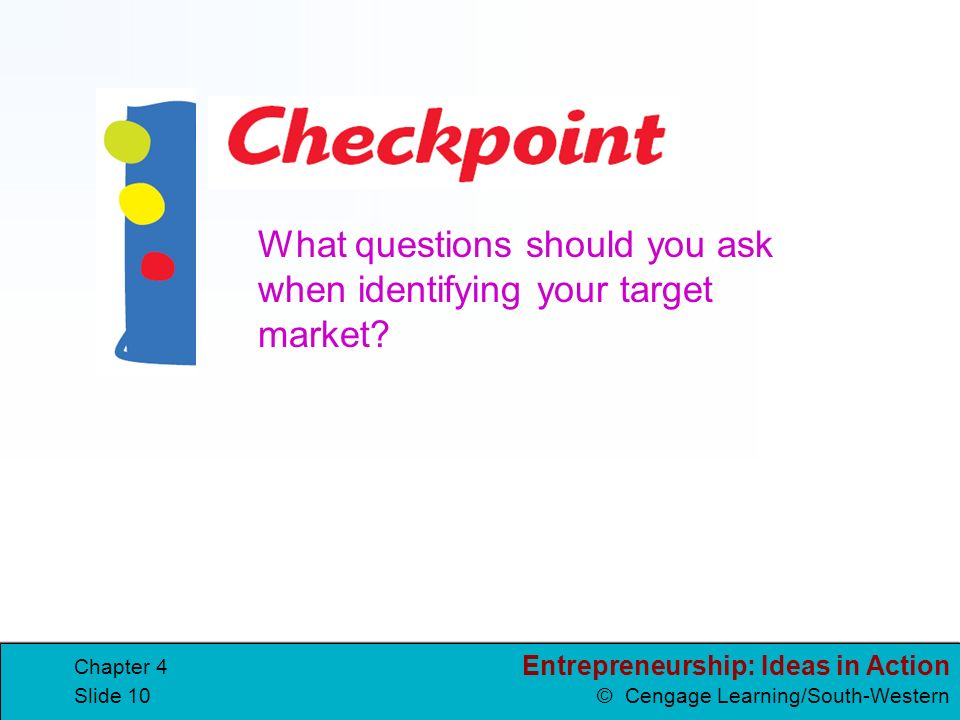 What questions should you ask when identifying your target market