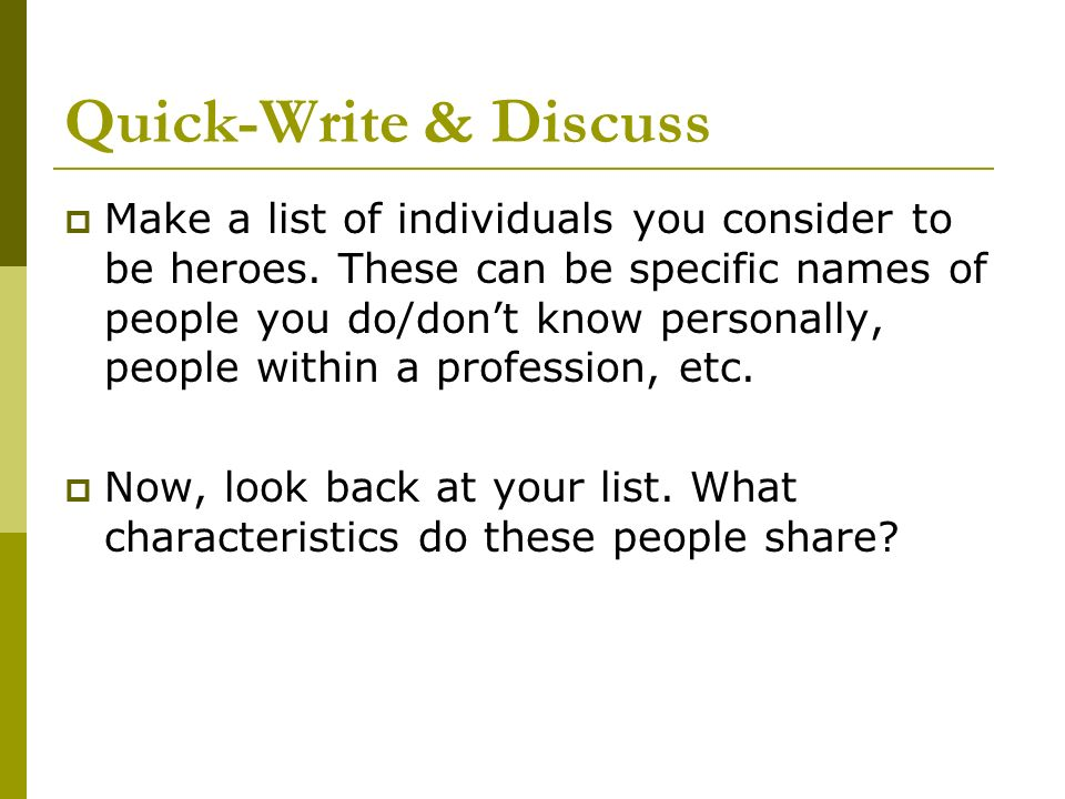What makes a HERO?  - ppt download