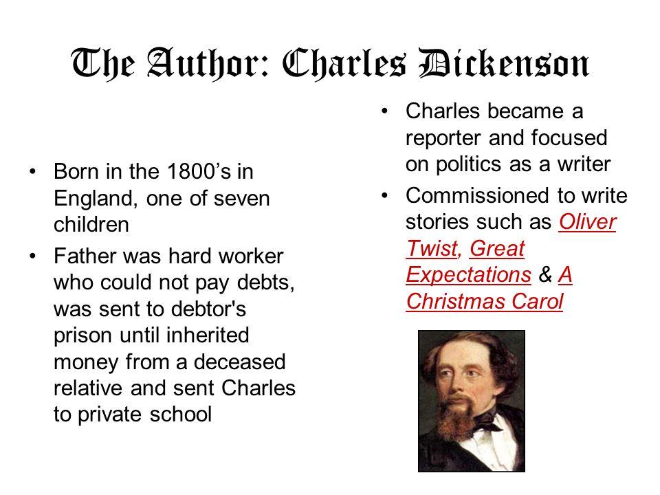 the author charles dickenson - Author Of A Christmas Carol