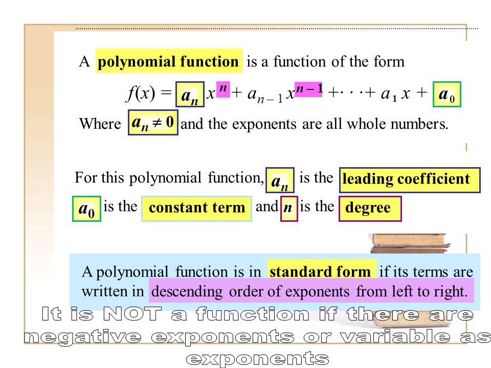 Evaluating And Graphing Polynomial Functions Ppt Video Online Download