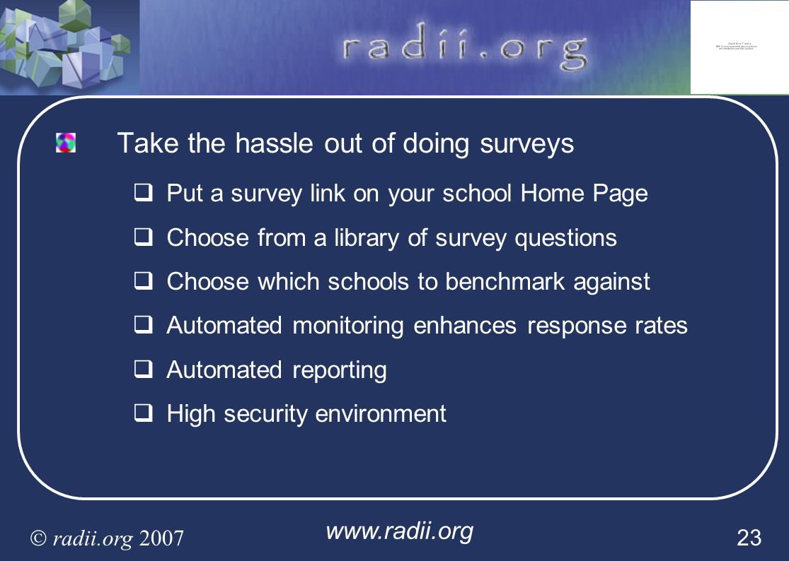 Take the hassle out of doing surveys