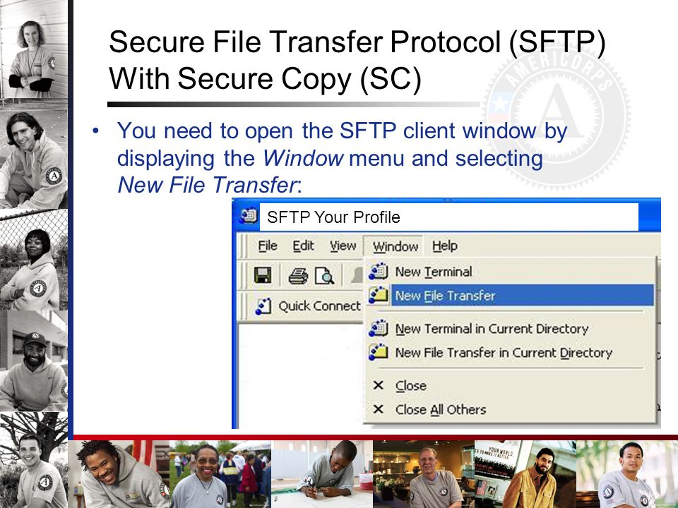 Secure File Transfer Protocol (SFTP) With Secure Copy (SC