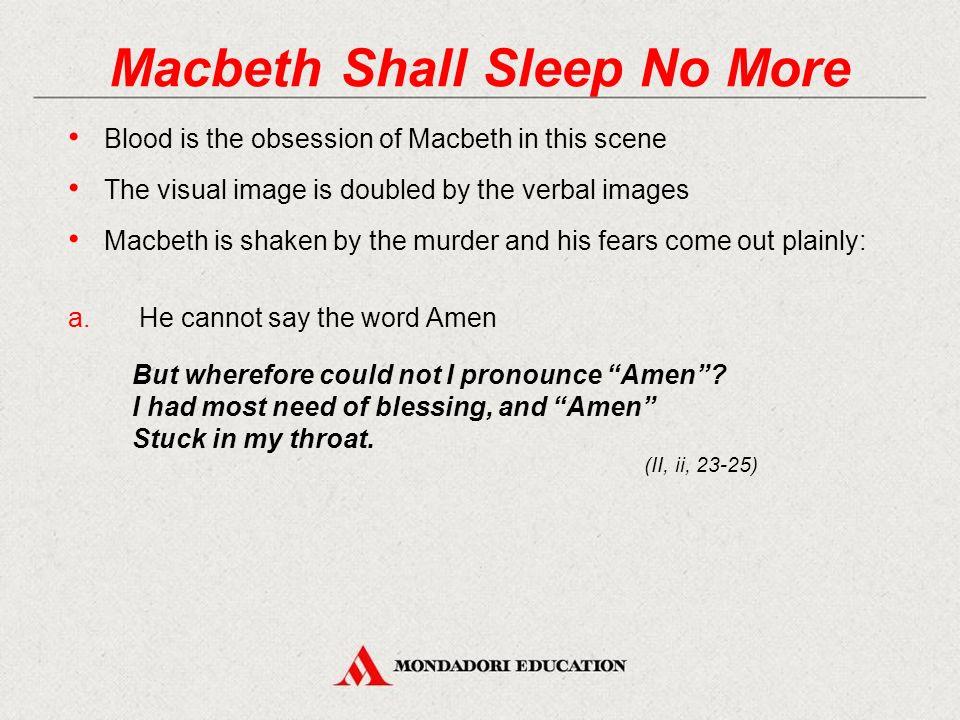 the word blood in macbeth