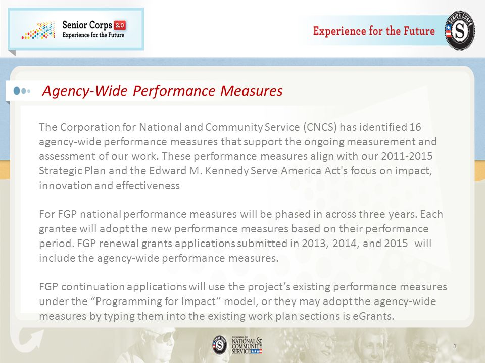 Agency-Wide Performance Measures