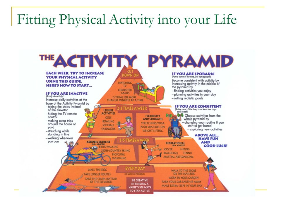 Vocabulary Physical Activity Physical Fitness Sedentary