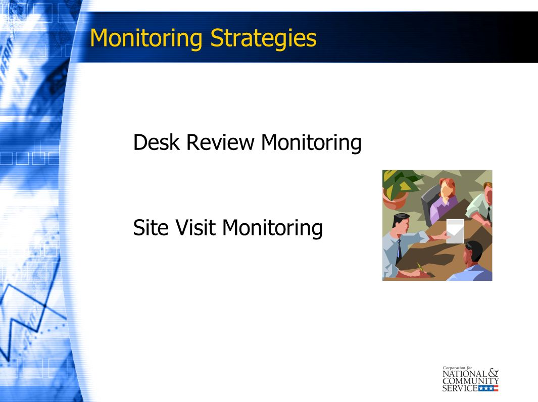 Monitoring Strategies