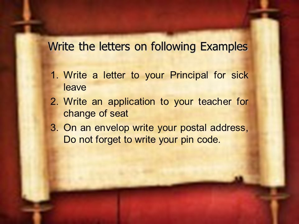 Composition 1 letter writing ppt video online