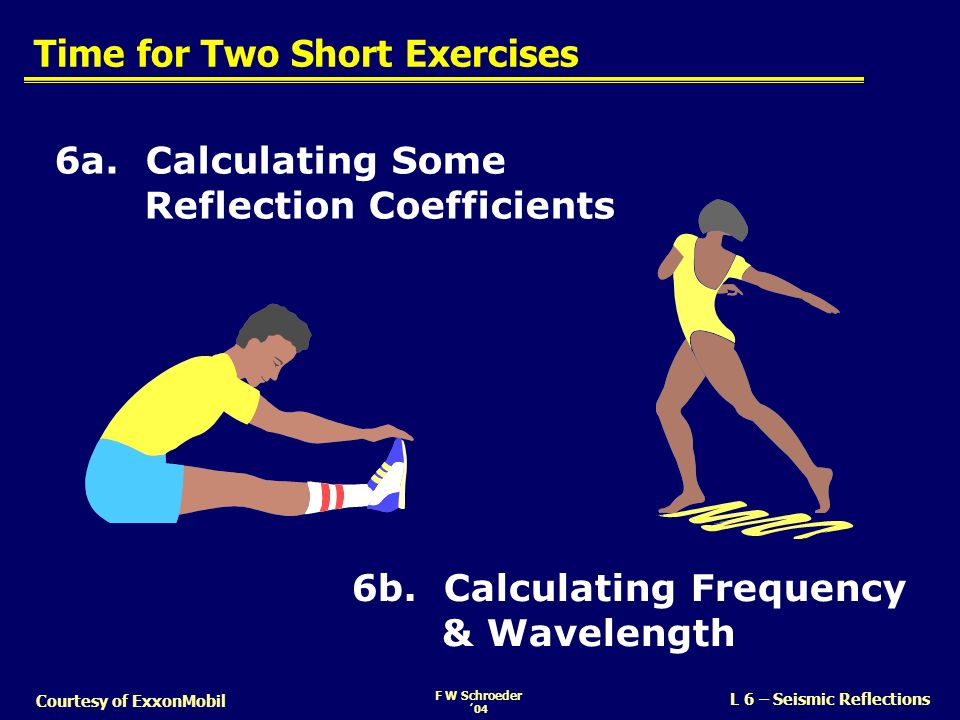 Time for Two Short Exercises