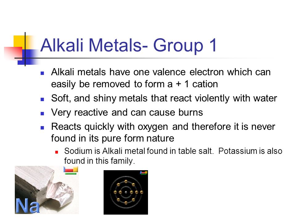 Lecture notes periodic table ppt video online download families of elements lecture notes periodic table lecture notes periodic table 2 alkali urtaz Choice Image