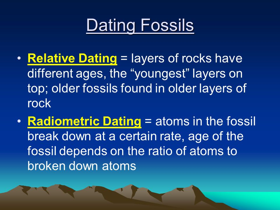 Remarkable, radiometric dating depends on our knowledge of