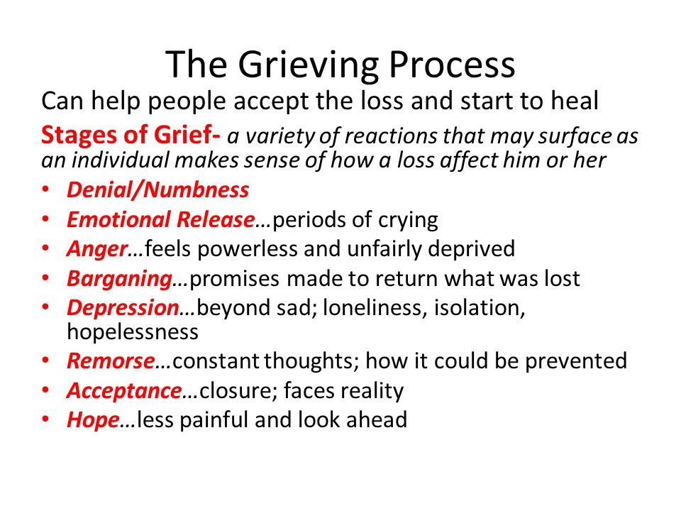 how to help people who are grieving