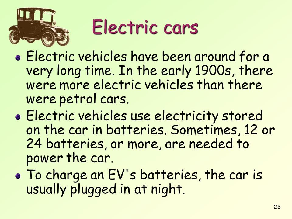 electric cars pros and cons