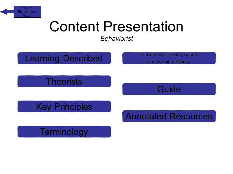 Theorydimensions Behaviorism Cognitivism Slt Definition Of Learning