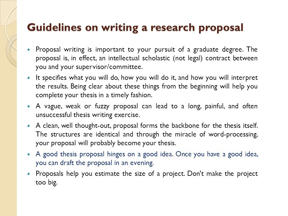 writing phd thesis proposal The purpose of writing a thesis proposal is to demonstrate that the thesis topic addresses a significant environmental problem an organized plan is in place for collecting or obtaining data to help solve the problem.