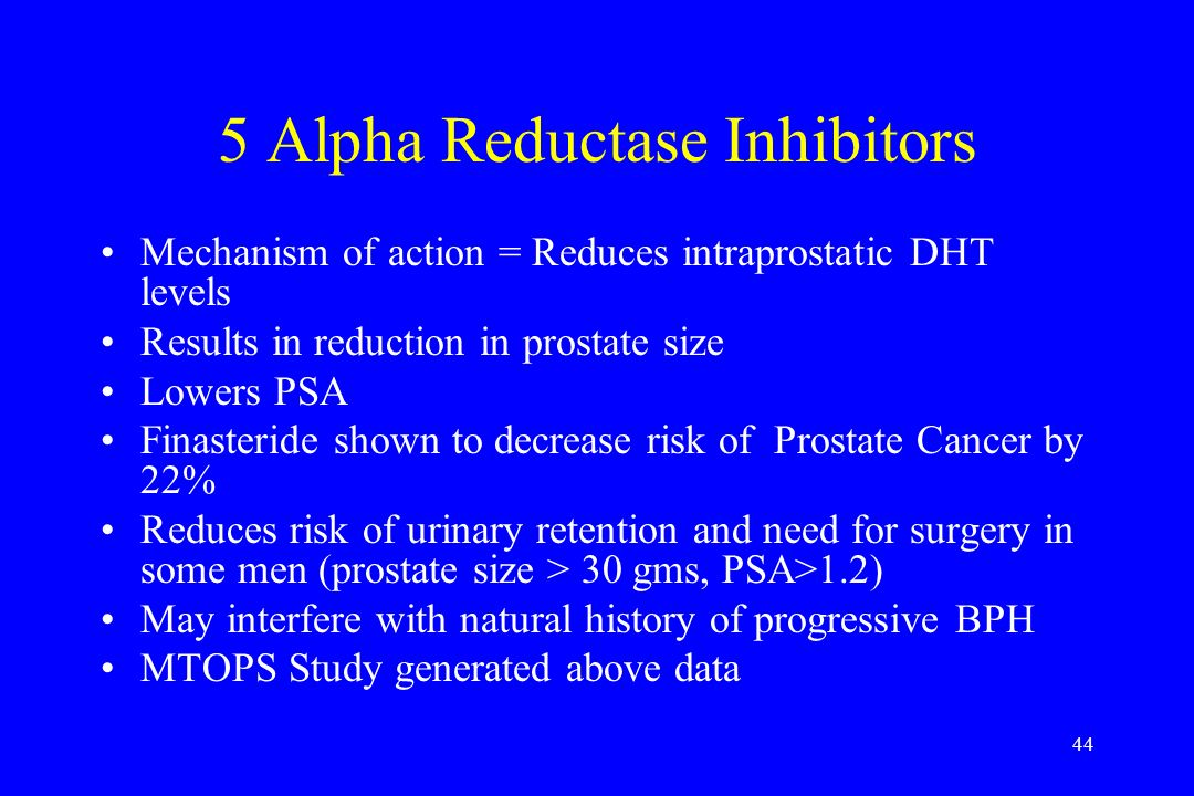 5 Alpha Reductase Inhibitors