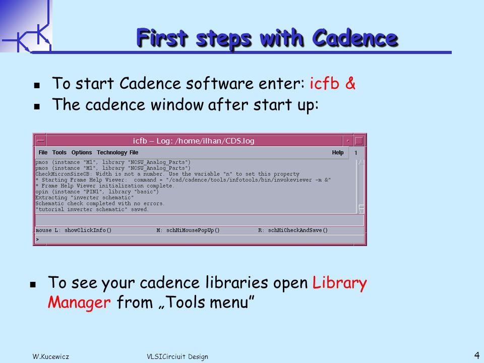 Lecture Bases On Cadence Design Tools Tutorial Ppt Download