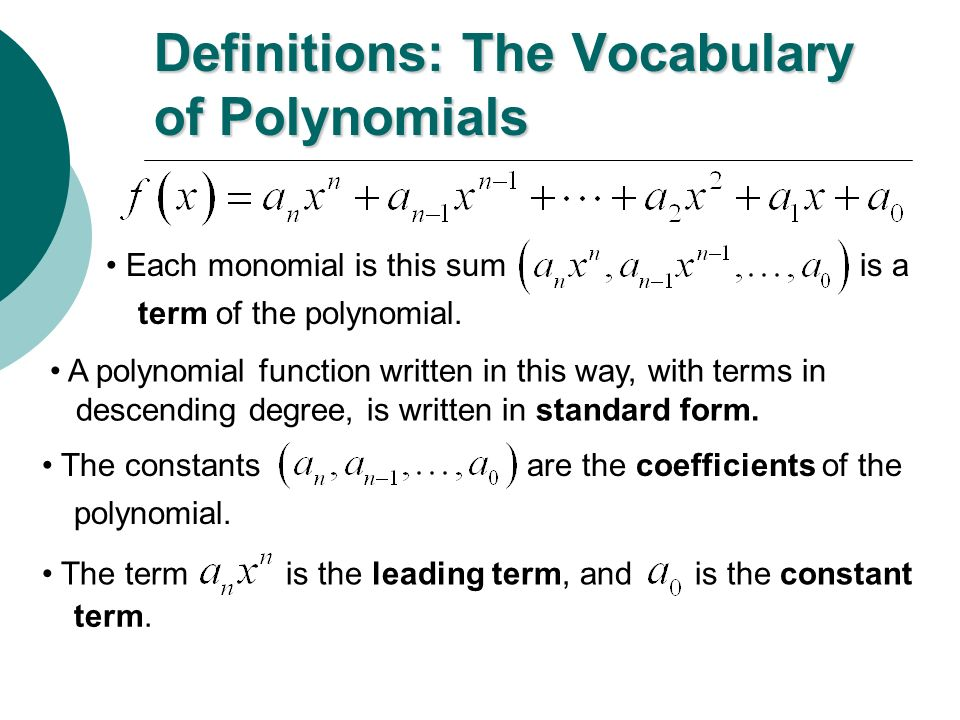 Polynomial Functions And End Behavior Ppt Video Online Download