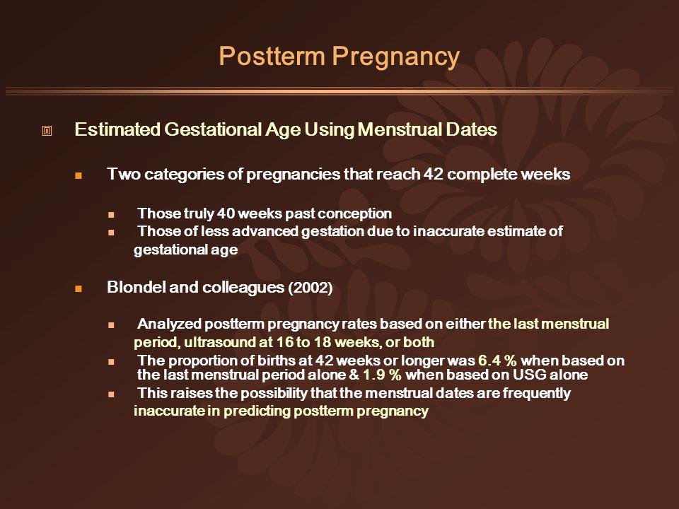 Ppt – postterm pregnancy powerpoint presentation | free to view.