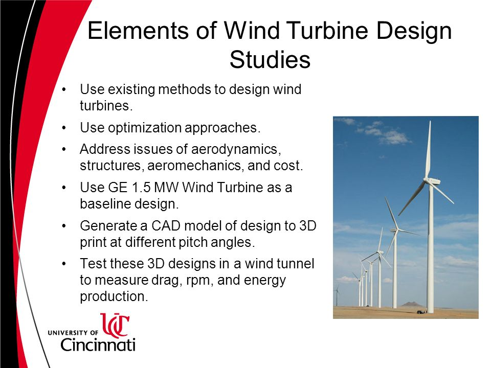 Wind Turbine Design Studies - ppt video online download