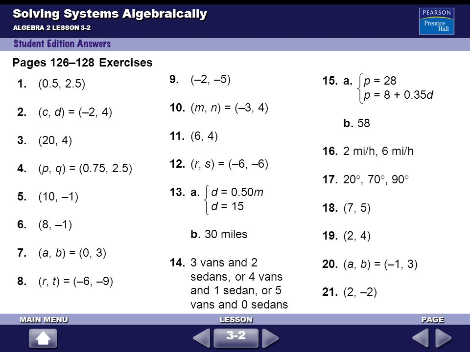 Graphing Systems of Equations - ppt download
