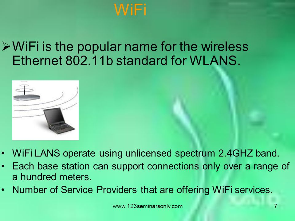 3G VS. WIFI - ppt video online download