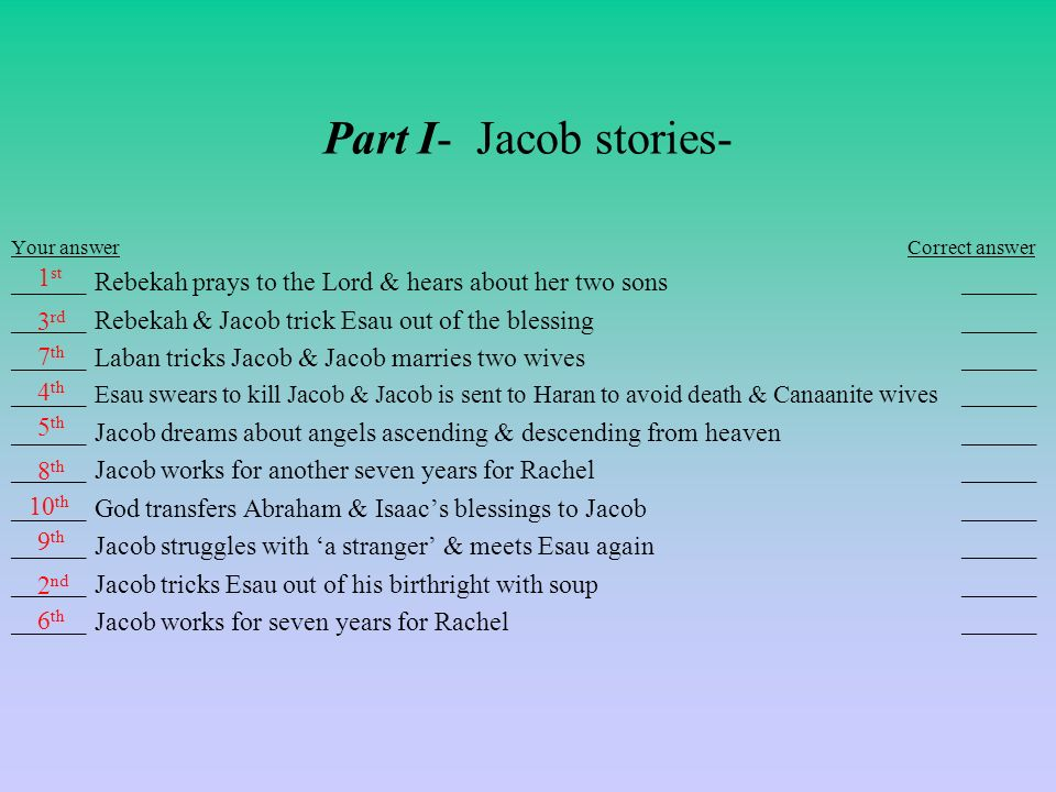 Joseph jacob stories timeline worksheet ppt video online download joseph jacob stories timeline worksheet 2 part ibookread ePUb