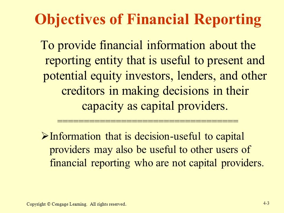 Financial Reporting and Analysis - ppt download