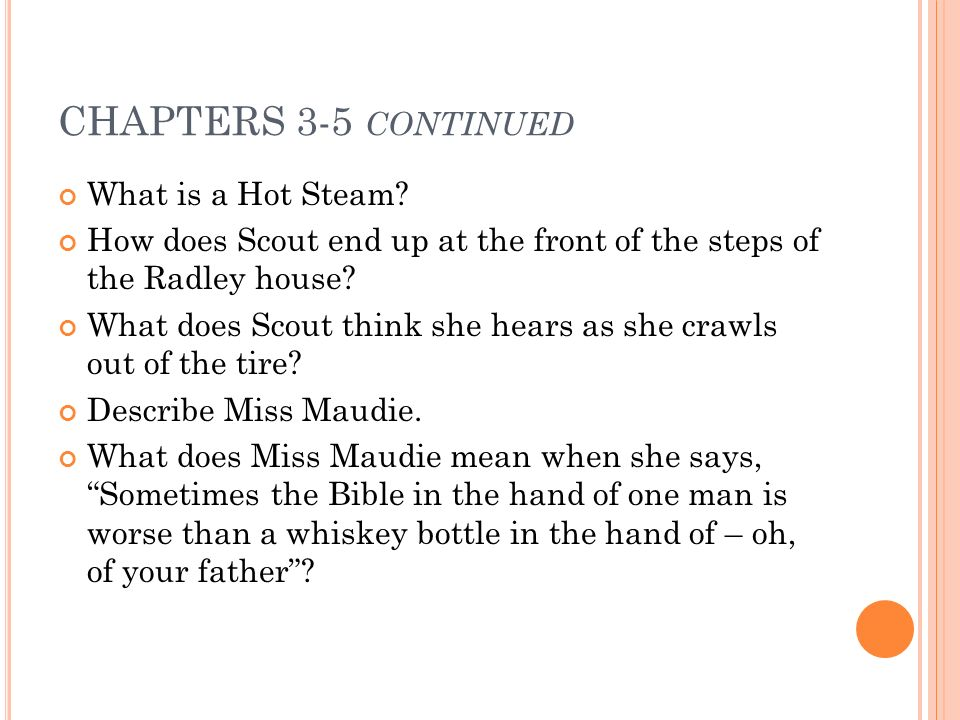 in chapter 3 of to kill a mockingbird