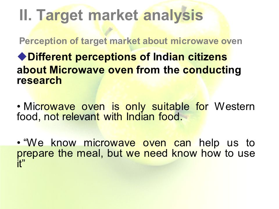 marketing microwave ovens in india