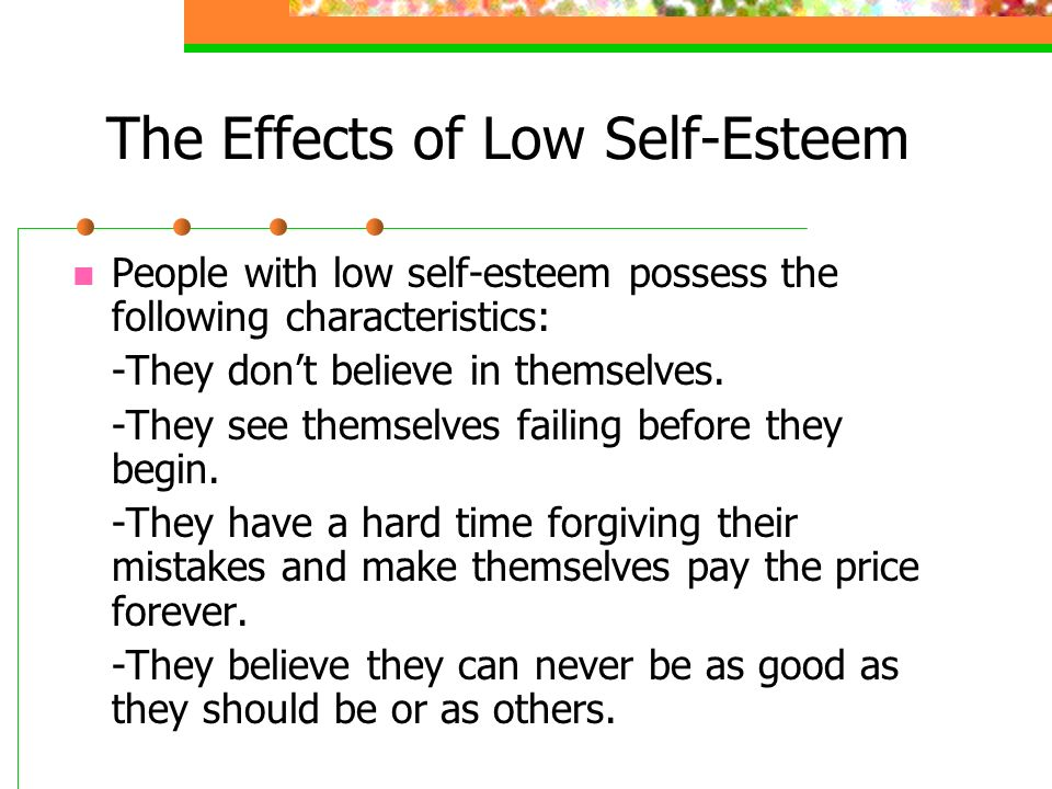 academic self esteem definition