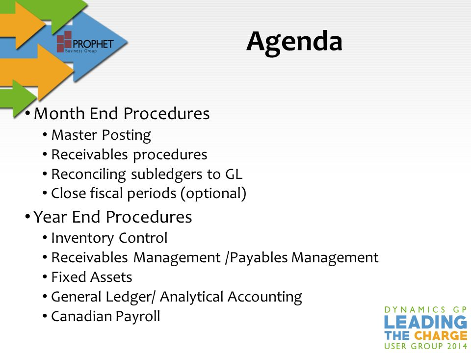 Year-End Close Procedures - ppt download