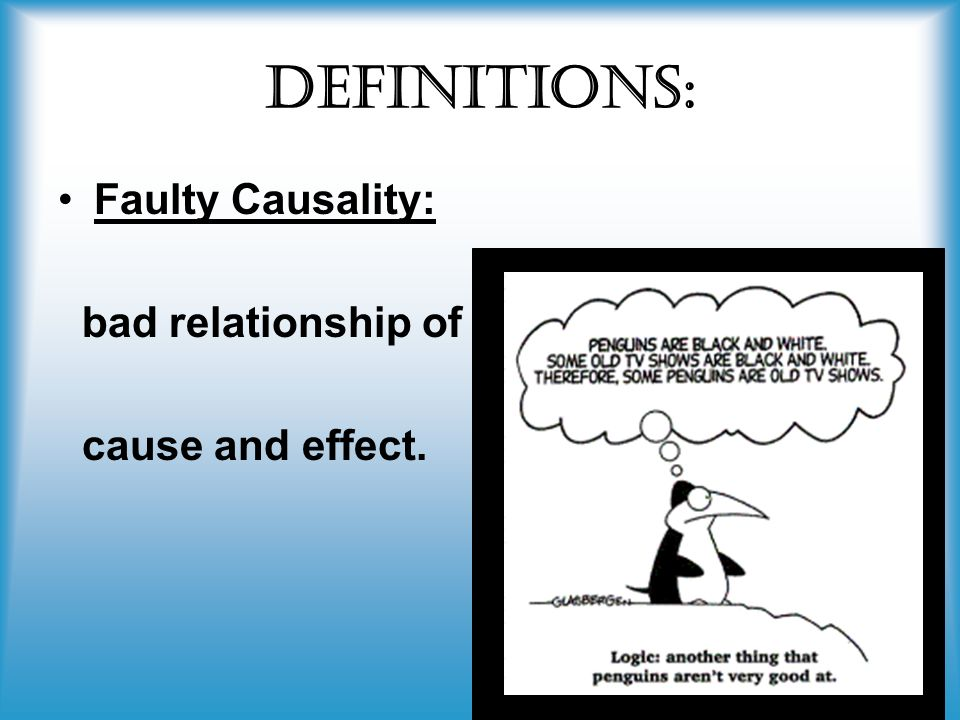 Post Hocfaulty Causality Non Sequitur Ppt Video Online Download