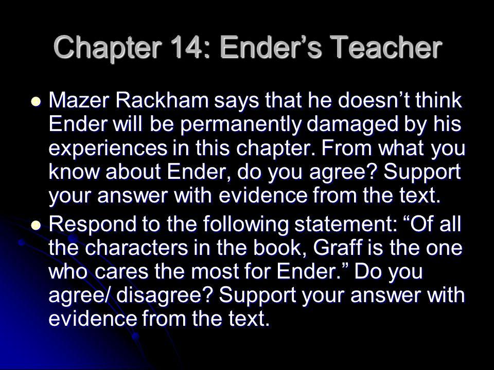 Ender S Game Response Journals Ppt Download