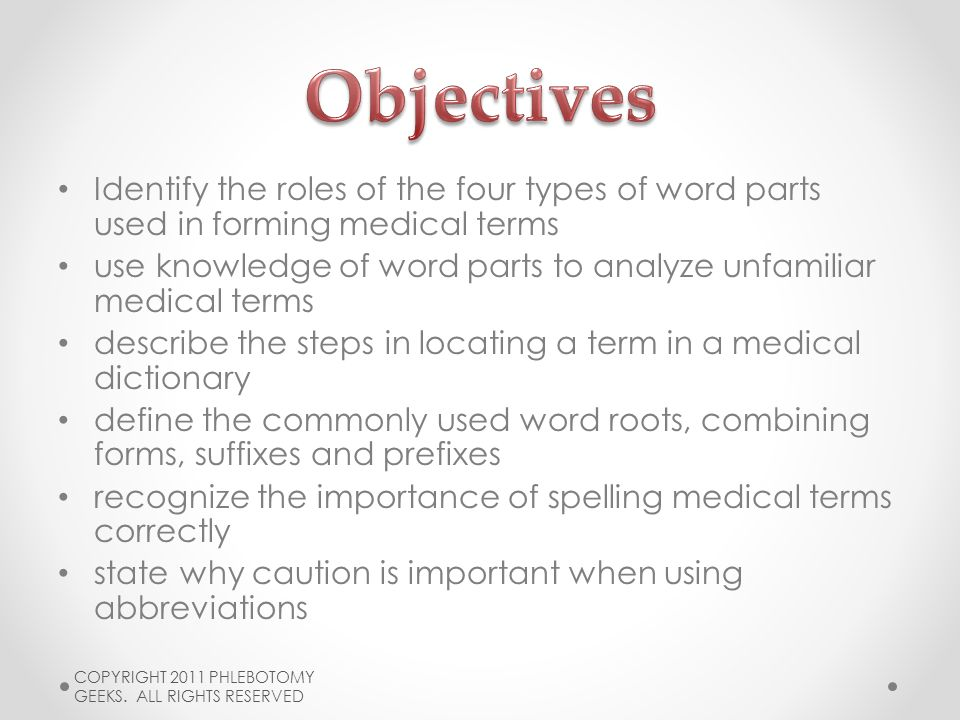 medical terms and abbreviations dictionary
