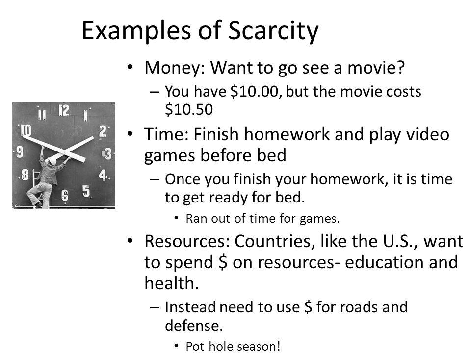 Economics definitions.